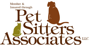 Members of and Insured through Pet Sitters Associates